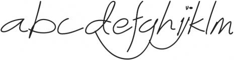 Abichondro Semi Bold otf (600) Font LOWERCASE