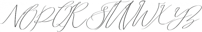 Abiding Love Script otf (400) Font UPPERCASE