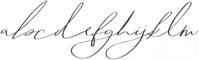 Abiding Love Script otf (400) Font LOWERCASE