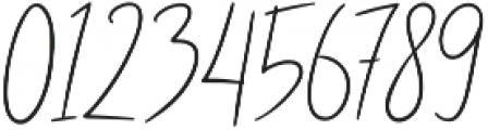 Abidzarly Script otf (400) Font OTHER CHARS