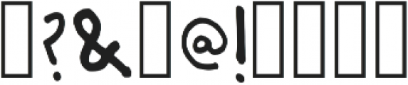 Abigail Christmas Hand Script Regular otf (400) Font OTHER CHARS