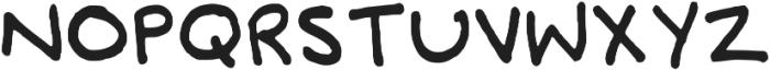 Abigail Christmas Hand Script Regular otf (400) Font UPPERCASE