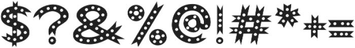 Abigail Dots otf (400) Font OTHER CHARS