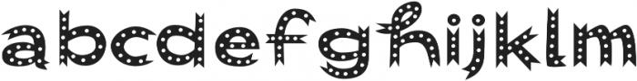 Abigail Dots otf (400) Font LOWERCASE