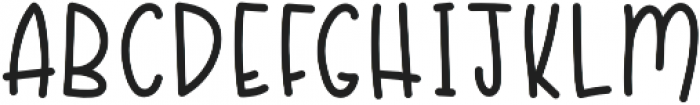 Abigail and Dean otf (400) Font UPPERCASE