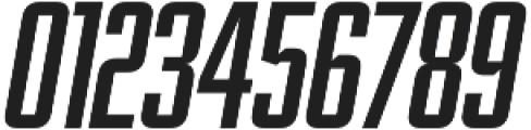 Abolition Round Oblique otf (400) Font OTHER CHARS