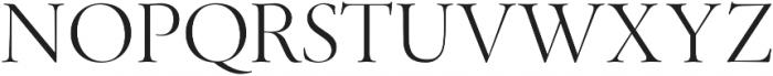 Above the Beyond Serif otf (400) Font UPPERCASE