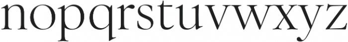 Above the Beyond Serif otf (400) Font LOWERCASE