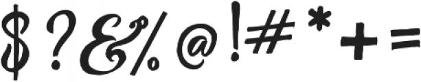 Abracadabra Typeface otf (400) Font OTHER CHARS