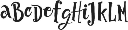 Abracadabra Typeface otf (400) Font UPPERCASE