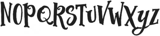 Abracadabra Typeface otf (400) Font LOWERCASE