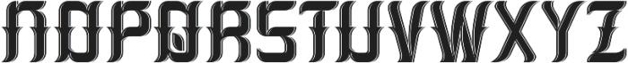 Absinthe02 LightAndShadow otf (300) Font UPPERCASE