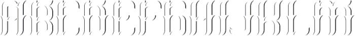 Absinthe02 LightAndShadowFX otf (300) Font LOWERCASE