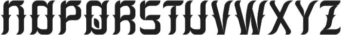 Absinthe02 Regular otf (400) Font UPPERCASE