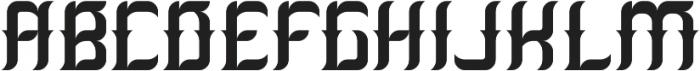 Absinthe02 Regular otf (400) Font LOWERCASE