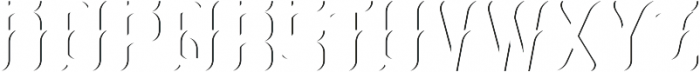 Absinthe02 ShadowFX otf (400) Font UPPERCASE