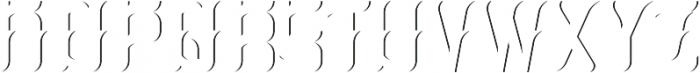 Absinthe02 ShadowFX otf (400) Font LOWERCASE