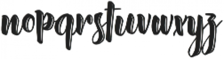 Absolute Pink otf (400) Font LOWERCASE