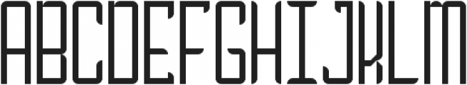 Absolution Thin Condensed ttf (100) Font UPPERCASE