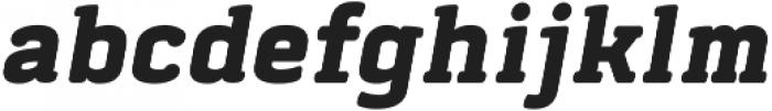 Abula Oblique otf (400) Font LOWERCASE