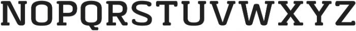 Abula Organic Bold Oblique otf (700) Font UPPERCASE