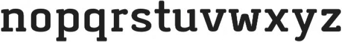 Abula Organic Bold Oblique otf (700) Font LOWERCASE