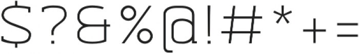 Abula Organic Oblique otf (400) Font OTHER CHARS