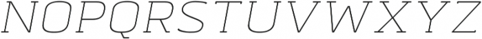 Abula Organic otf (400) Font UPPERCASE