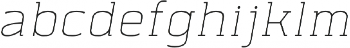 Abula Organic otf (400) Font LOWERCASE