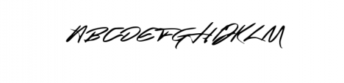 Absolute Script.WOFF Font UPPERCASE