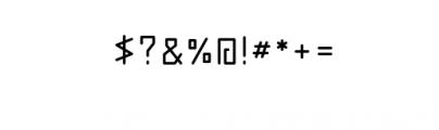 abakamu.otf Font OTHER CHARS