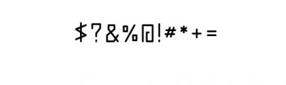 abakamu.ttf Font OTHER CHARS