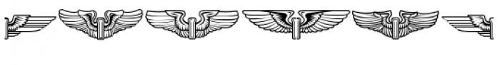 ABTS Crestwing Regular Font OTHER CHARS