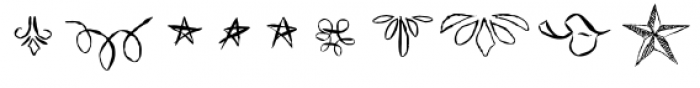 ABTS Feather Pen Font OTHER CHARS