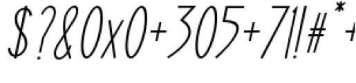 ABTS Oklahoma Italic Font OTHER CHARS