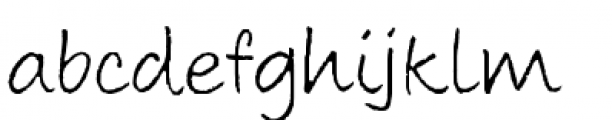 Aboutface Thin Font LOWERCASE