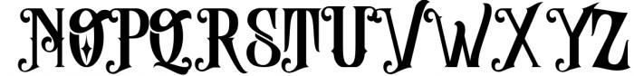 Abhinaya - Victorian Font UPPERCASE