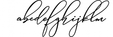 Absolutely Adorable Sophia 1 Font LOWERCASE