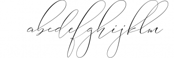 Absolutely Adorable Sophia 5 Font LOWERCASE
