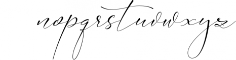 Absolutely Adorable Sophia 8 Font LOWERCASE