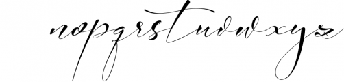 Absolutely Adorable Sophia 9 Font LOWERCASE