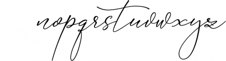 Absolutely Adorable Sophia Font LOWERCASE