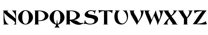 ABBESSOpti Font UPPERCASE