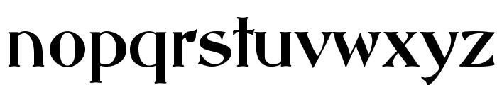 ABBESSOpti Font LOWERCASE