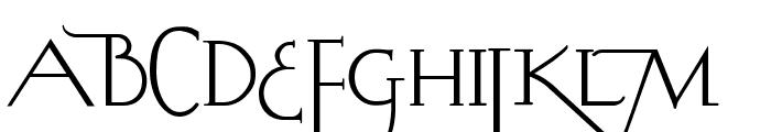 ABC-LongLegs Font UPPERCASE