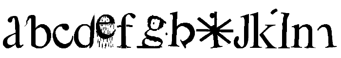 ABC Metamorphose Font LOWERCASE