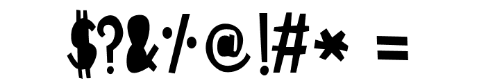 ABCFONT-HPLHS Font OTHER CHARS