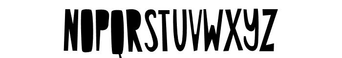 ABCFONT-HPLHS Font UPPERCASE