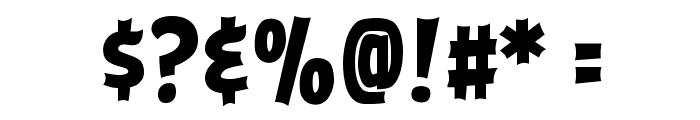 ABFlockHeadline Bold Font OTHER CHARS