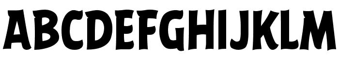 ABFlockHeadline Bold Font UPPERCASE